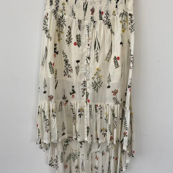 O'Neill Dresses & Skirts - High-low midi floral skirt